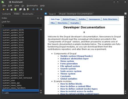 Drupal Documentation in Assistant